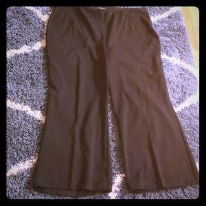 Lane Bryant black pants